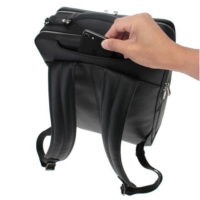 画像7: 創業130年の老舗鞄メーカーより「メンテナンスフリー牛革バックパック」が新登場