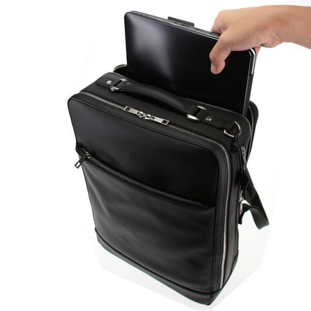 画像6: 創業130年の老舗鞄メーカーより「メンテナンスフリー牛革バックパック」が新登場