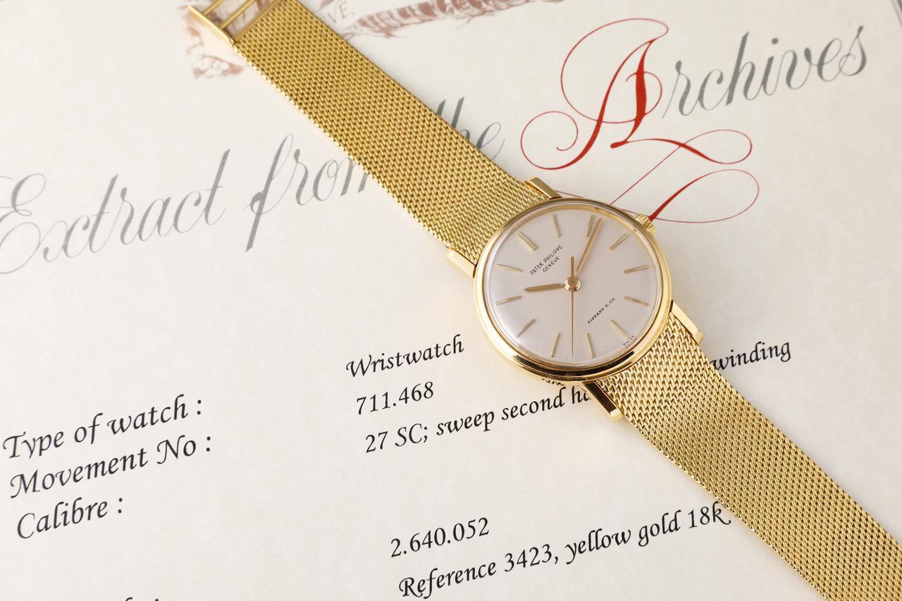 画像: 創業からすべての時計の記録を保存しているパテック・フィリップ。1本1本のストーリーがアーカイブには記載されている