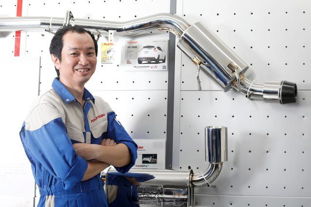 画像: 研究開発部の主任で営業企画部にも所属。現場のスペシャリストとしてである長谷川 良太さん