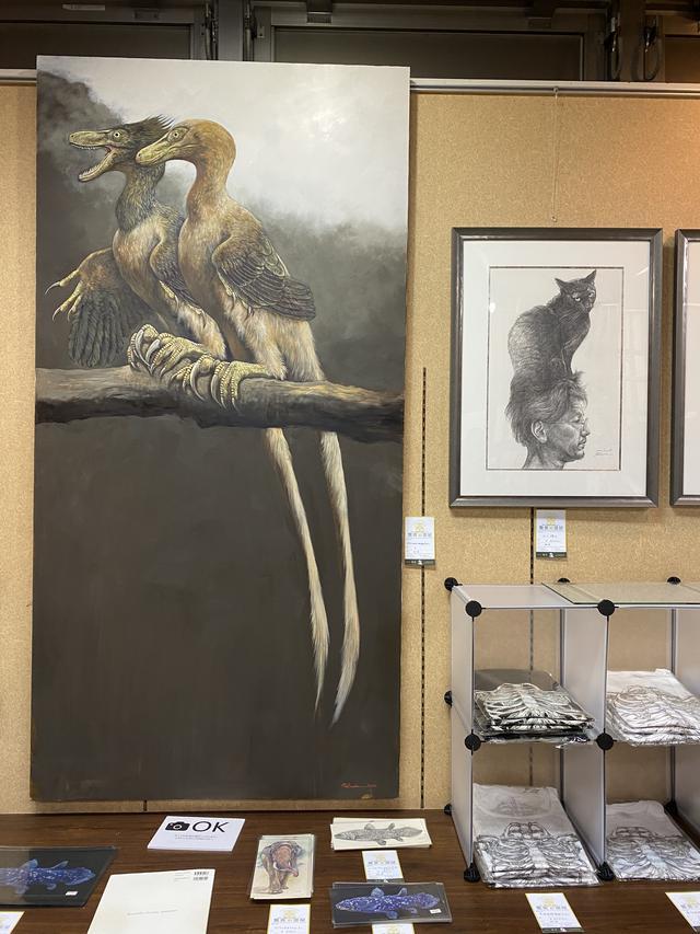 画像2: 圧倒的芸術!芸術の秋は『恐竜アート』を満喫