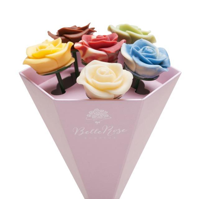 画像5: 想いを届ける薔薇のショコラ「ベルローズ・ボヌール」