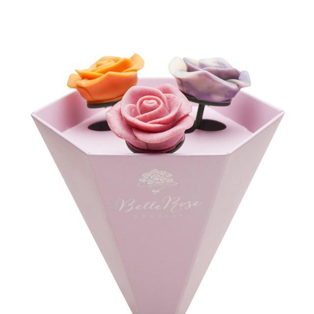 画像4: 想いを届ける薔薇のショコラ「ベルローズ・ボヌール」