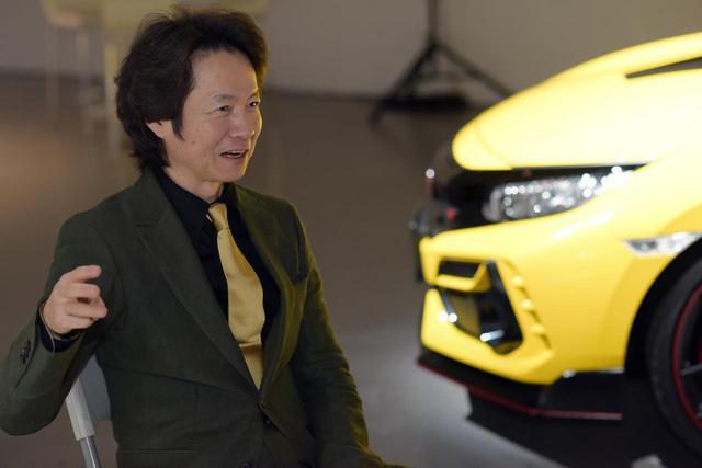 画像: インタビューは2020年2月の車両発表会にて