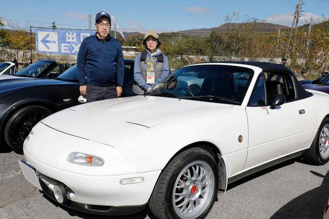 画像: ロードスター NA8 スペシャルパッケージ/横田光彦さん(栃木県)・ホイールはBBS RG-F