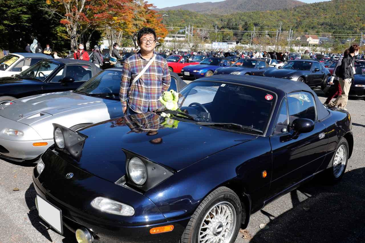 画像: ロードスター NA型Gリミテッド/菊地太郎さん(東京都)・ホイールはBBS RGタイプ