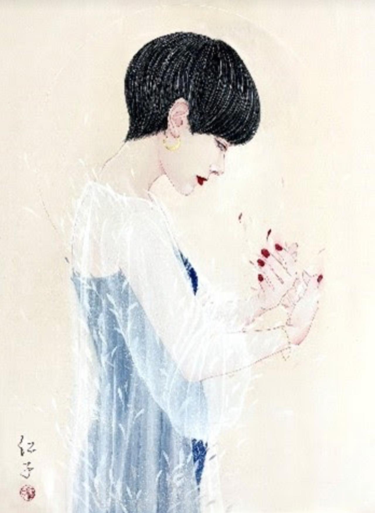 画像: 「たしかな声。」丁子紅子