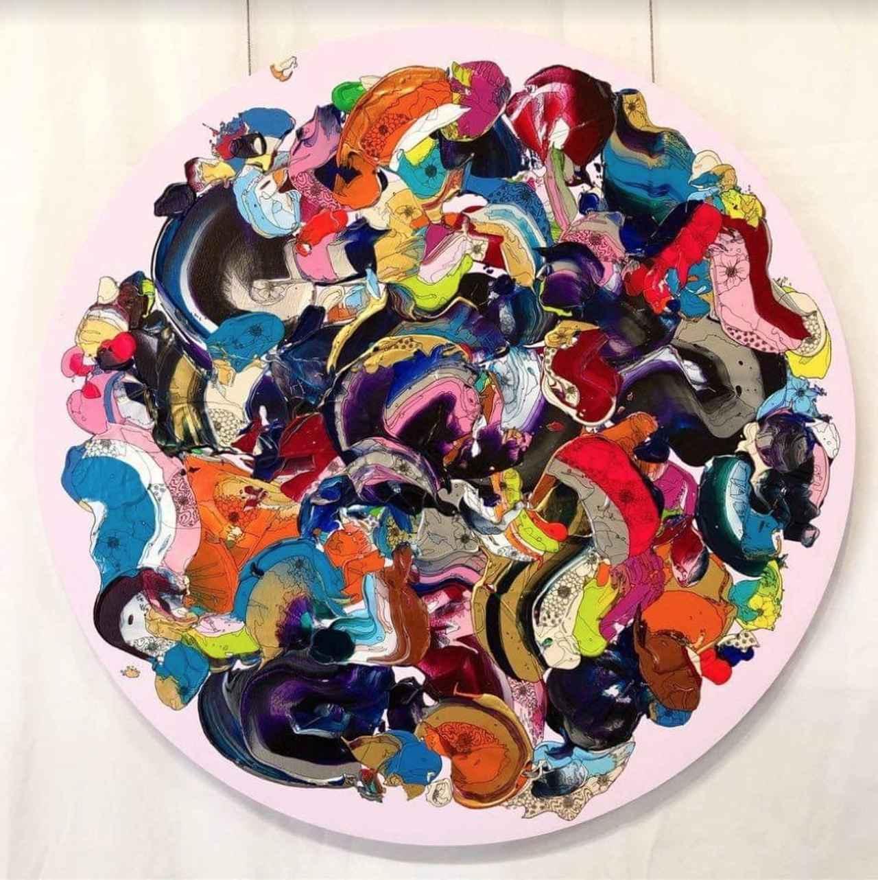 画像: 「Abstract Flowers」 奥田雄太