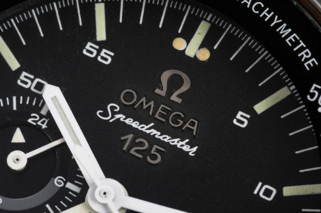 画像: オメガ創立125周年を記念した特別モデル