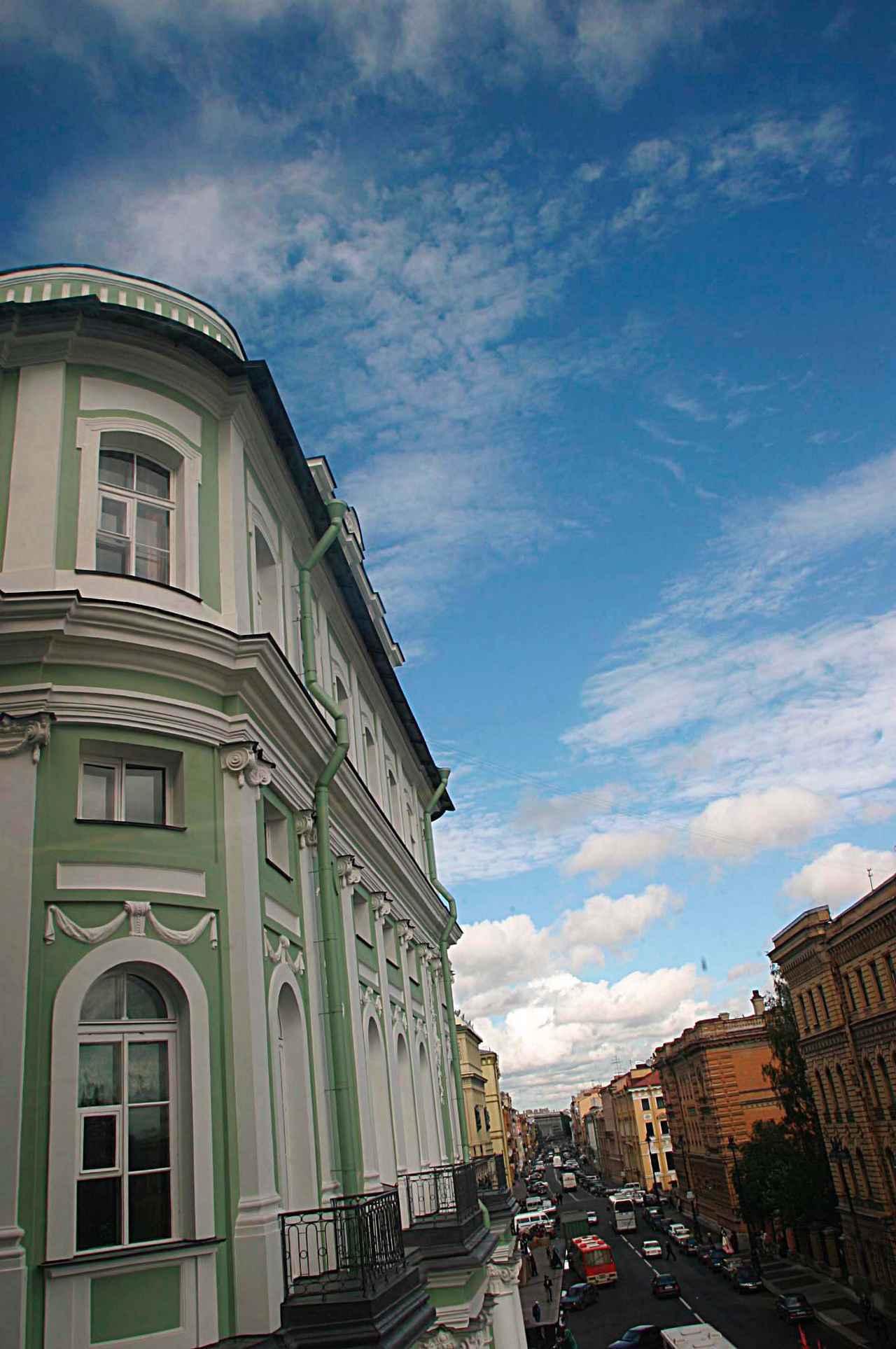 画像: サンクトペテルブルクの美しい街並み。