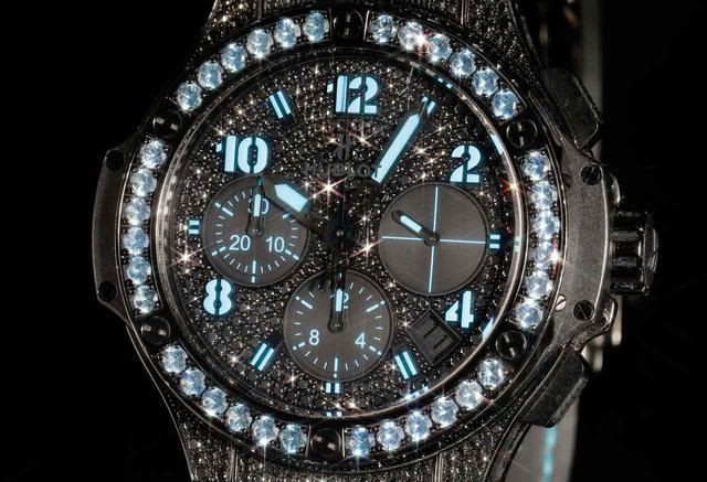 画像: ビッグバン ブラックフローブルー ブラックダイヤモンド
