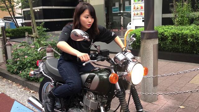 画像: 平嶋夏海が挑戦! 初めてのSR400キックスタート! youtu.be