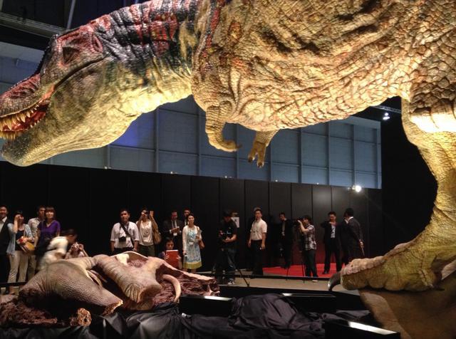 画像: 恐竜展2021