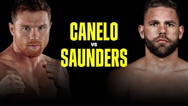 画像: カネロ・アルバレス vs B・J・サンダース : スーパーミドル級3団体統一戦 をライブ 中継 | 1ヶ月お試し¥0 | DAZN JP