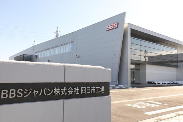 画像: 新たな塗装工場として2020年に稼働を開始した四日市工場