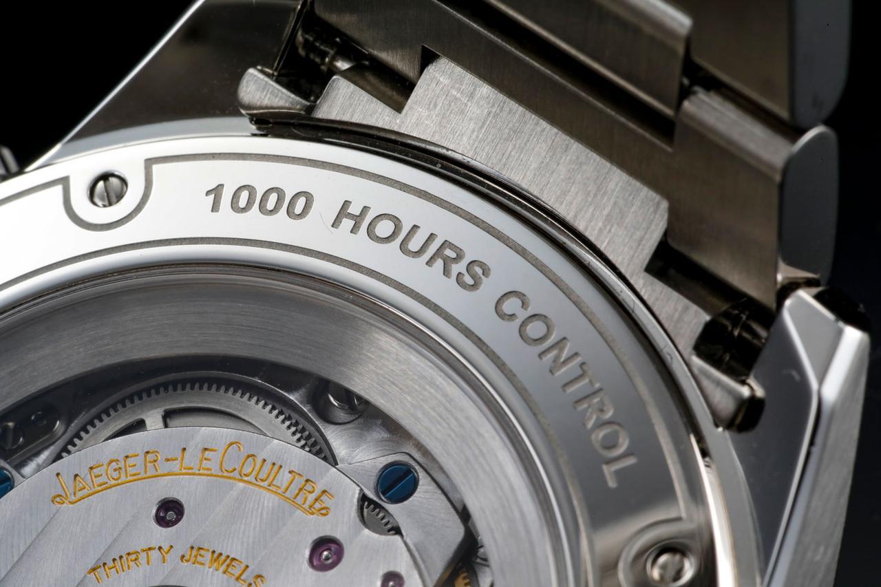 画像: ジャガー・ルクルトの品質検査プログラム「1000時間コントロールテスト」を合格した証の刻印