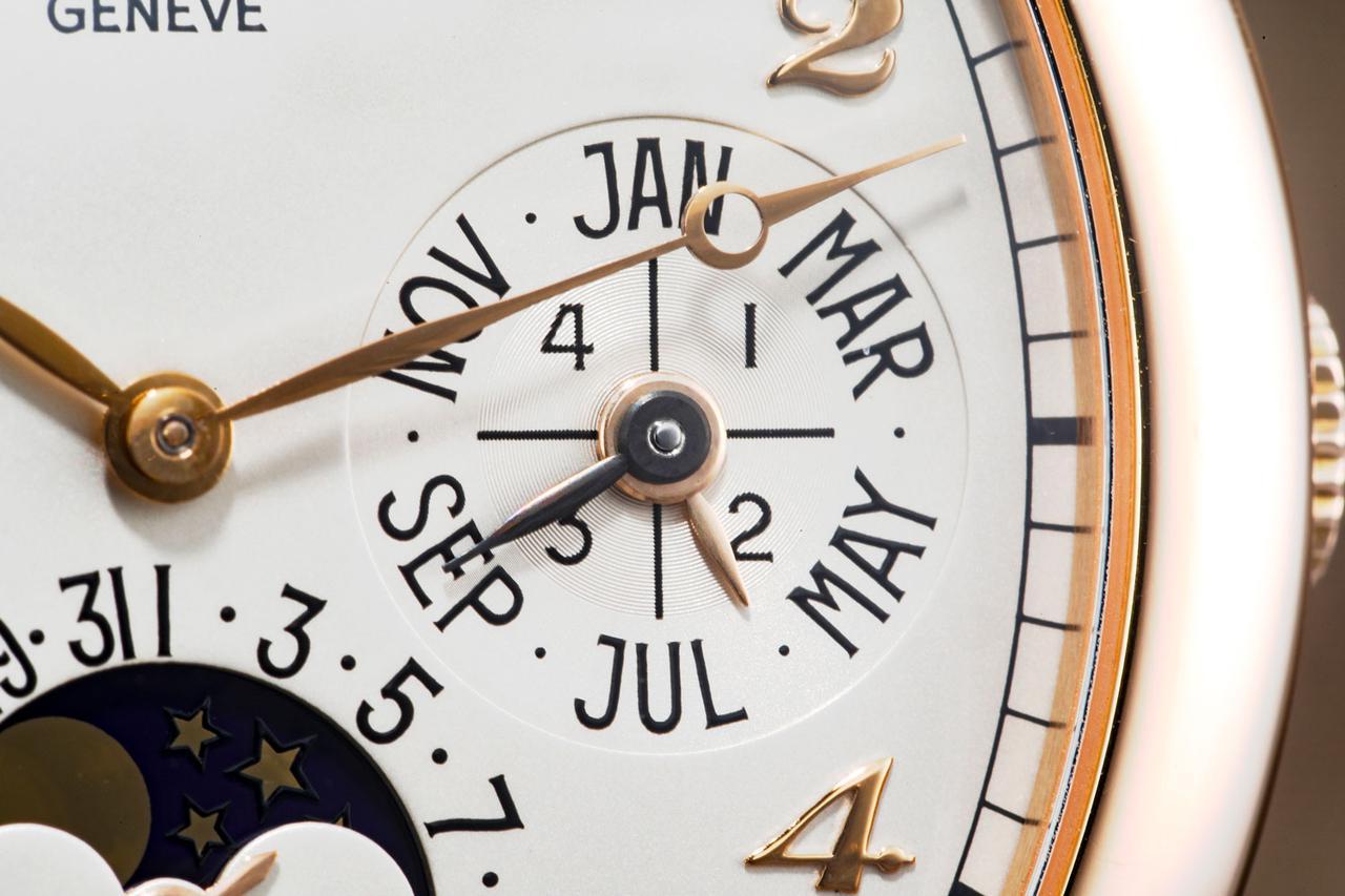 画像: 【パーペチュアルカレンダー】周囲にMonth表示。内側に閏年(1〜4の数字)が記載されている