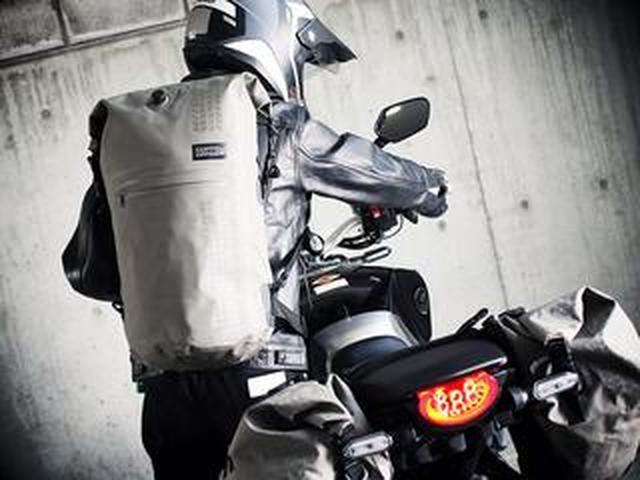 画像: シートバッグとしても使えるドッペルギャンガーの「ターポリンデイパック」に新色が登場!