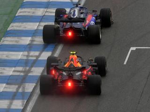 画像: F1第11戦ドイツGP、アルボンとガスリーが終盤に6番手争い、接触がなければホンダの4台入賞も【モータースポーツ】