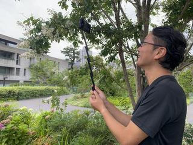 画像: 三脚メーカー「ベルボン」の「iPhone専用自撮り棒付きケース」が便利! 写真家、西尾豪(2405)が実写レポート!