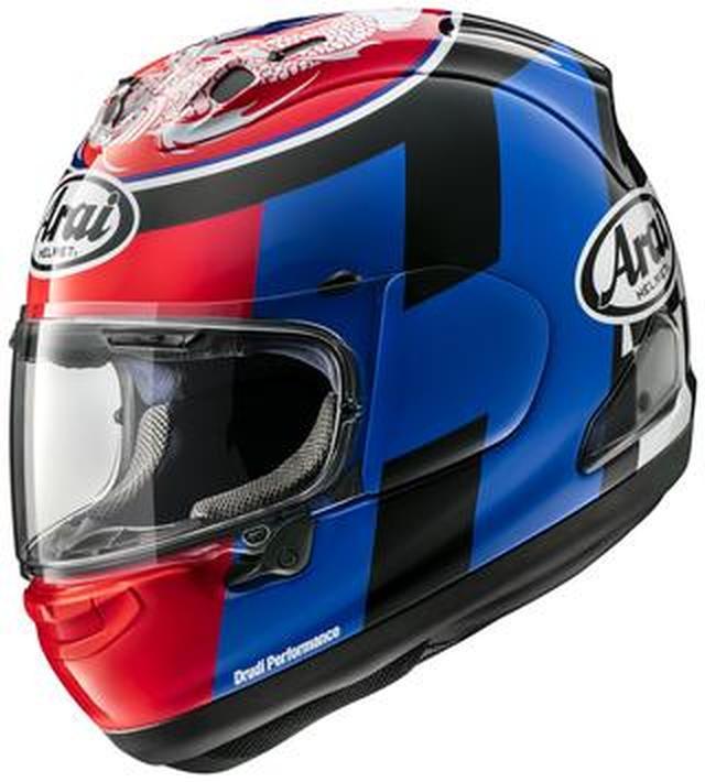 画像: 鈴鹿8耐優勝ライダーのひとりレオン・ハスラム選手のレプリカヘルメットが登場! アライヘルメットRX-7X〈ハスラム SB〉