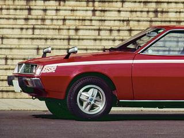 画像: 【昭和の名車 59】三菱 ギャランラムダ 2000GSR:昭和51年(1976年)