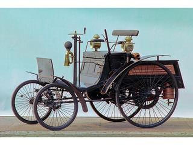 """画像: 【メルセデス""""小史"""" 01】ベンツの記念すべき第1号車は小型の三輪車だった!"""