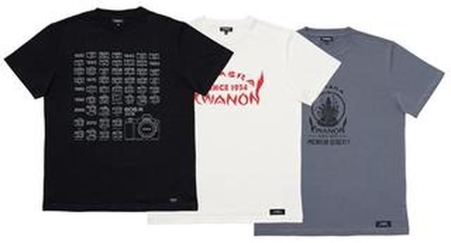 画像: キヤノンオフィシャルグッズに Tシャツ、フェイスタオルなど6アイテムを追加