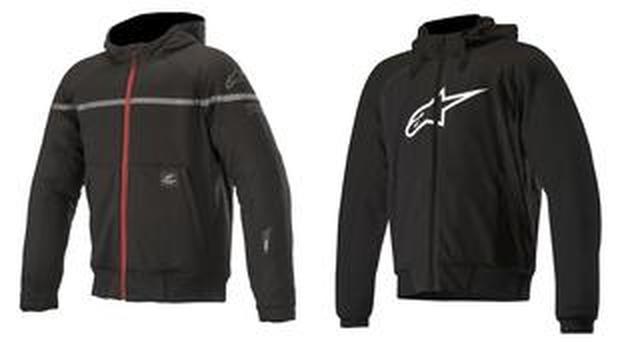 画像: あなたはどっち派? アルパインスターズから気軽に着られるパーカースタイルのライディングジャケットが2種類、新登場!