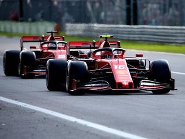 画像: F1第14戦イタリアGP予選、ルクレールがポールを獲得、ホンダ勢はアルボンの8番手が最上位【モータースポーツ】