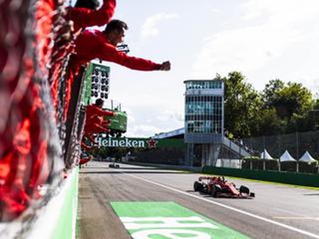 画像: F1第14戦イタリアGP、ルクレール2連勝、レッドブル・ホンダは2台入賞も優勝争いに絡めず【モータースポーツ】