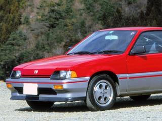 画像: 【昭和の名車 86】ホンダ バラードスポーツ CR-X:昭和58年(1983年)