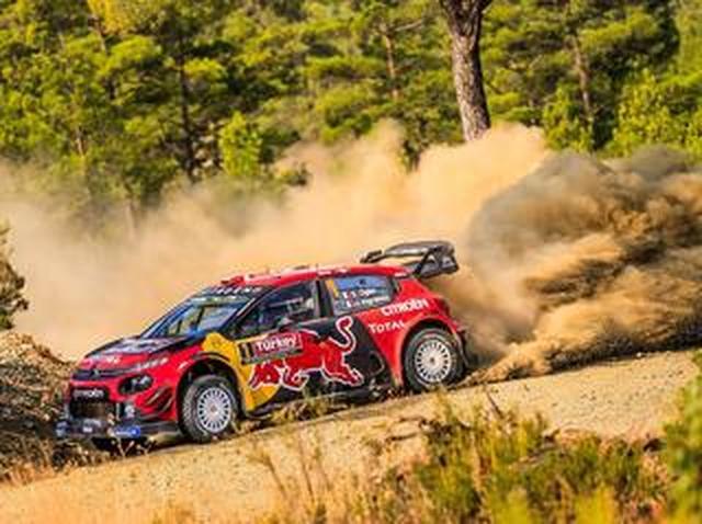 画像: WRC第11戦ラリートルコ、シトロエンが1-2、チャンピオン争い一気に緊迫【モータースポーツ】