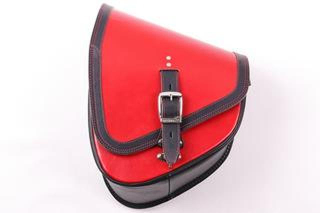画像: デグナーからハーレーのソフテイルシリーズに似合う本革バッグ「レザーリジッドバッグ」が新登場