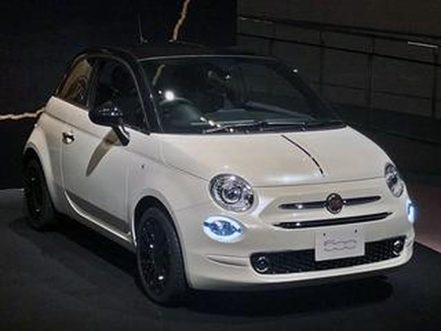 画像: フィアット 500/500C の限定車「120th タキシード」を発売