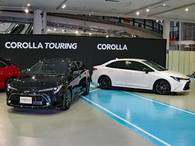 画像: 【ニューモデル写真蔵】トヨタ カローラ/カローラツーリング「TNGAを採用しスポーティなデザインに。走りにも期待できる」
