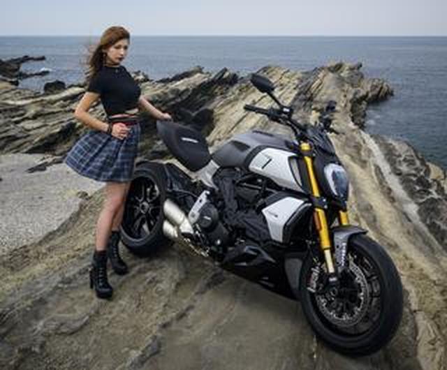 画像: ドゥカティの新型「Diavel1260S」を詳解!「The Other Side of Red」Ducatiのほとばしる光彩/『ゴーグル』9月24日発売