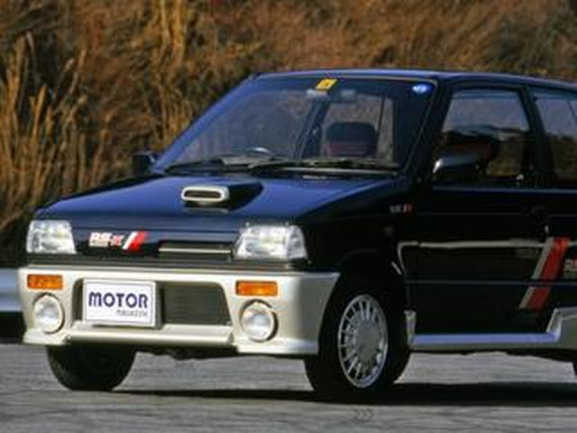 画像: 【昭和の名車 101】スズキ アルトワークスRS-X:昭和62年(1987年)