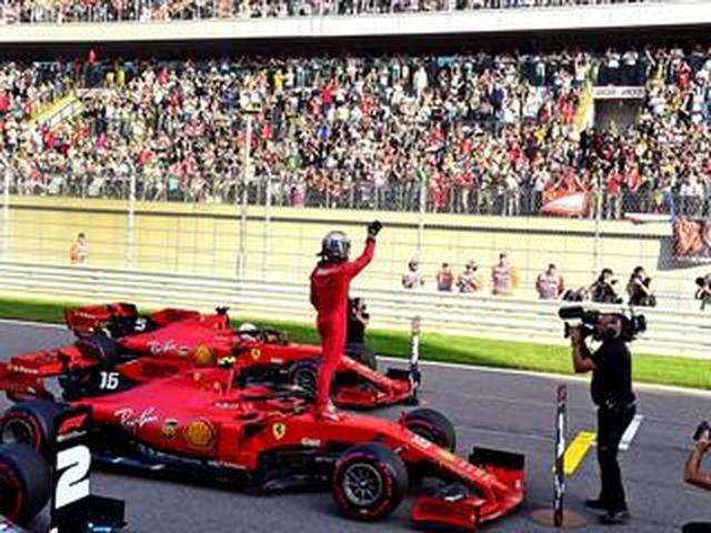 画像: F1第16戦ロシアGP予選、ルクレールが4戦連続ポール、フェルスタッペン4番手も5グリッド降格【モータースポーツ】