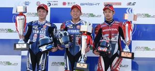 画像: <全日本ロードレース>レース1は中須賀が貫録の勝利! ~残り3レースで高橋へのポイント差は16!~