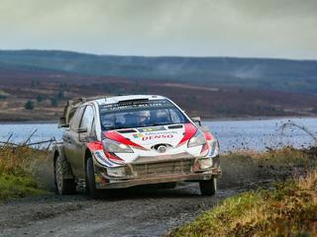 画像: WRC第12戦ラリーGB、トヨタのタナックが今季6勝目、チャンピオンに向けて前進【モータースポーツ】