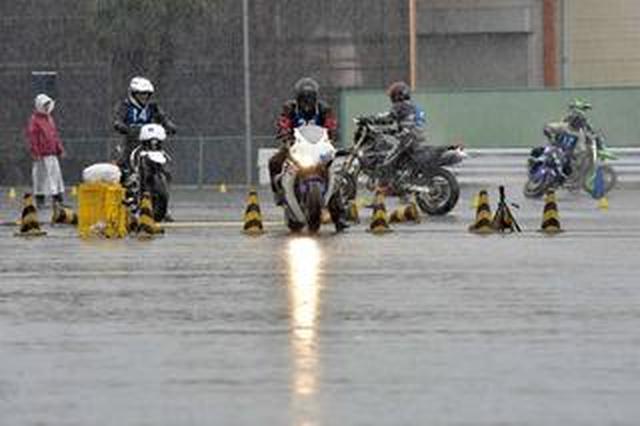 """画像: オートバイ杯ジムカーナ特別戦""""MOTO GYMKHANA JAPAN""""、台風19号の接近により中止に!"""