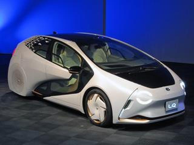 画像: 【東京モーターショー】トヨタが「新しい時代の愛車」、コンセプトカー「LQ」を初披露