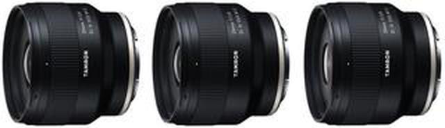画像: 寄れるコンパクトな単焦点レンズ3本発表 タムロン20mm F/2.8 Di III OSD M1:2(Model F050) タムロン24mm F/2.8 Di III OSD M1:2(Model F051) タムロン35mm F/2.8 Di I...