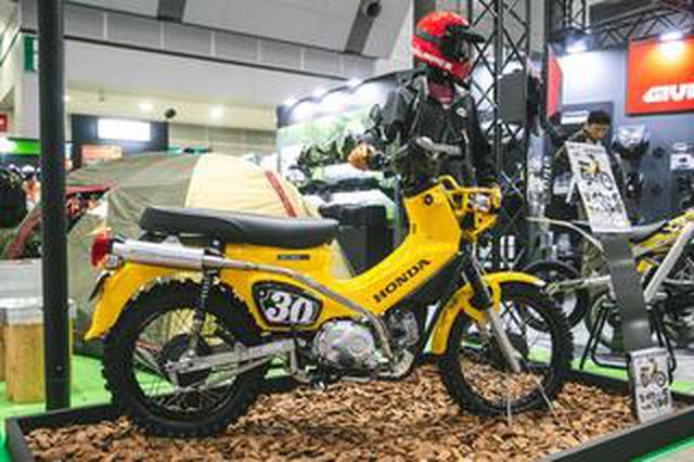 画像: 今手に入るハンターカブ風、「アゲ」クロスカブ。パーツ展示即売会が関東で開催