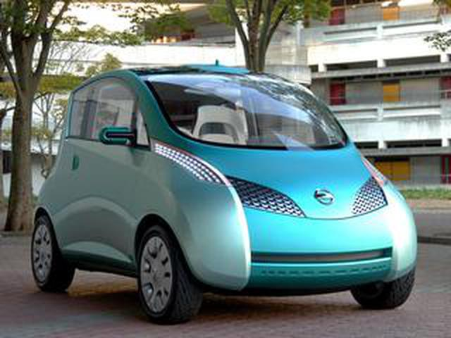 画像: 【懐かしの東京モーターショー 19】2003年、日産は新発想のシティコミューター「エフィス」に先進技術を投入