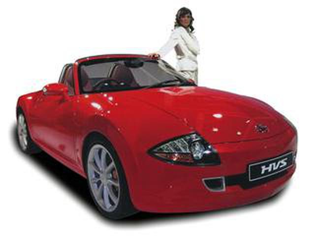 画像: 【懐かしの東京モーターショー 20】2005年、ダイハツは「HVS」で21世紀のハイブリッドスポーツを提案した