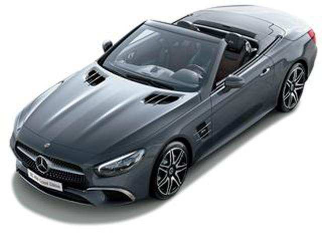 画像: メルセデス・ベンツ SL400グランドエディション発売。通常は選択できない上級オプション装備