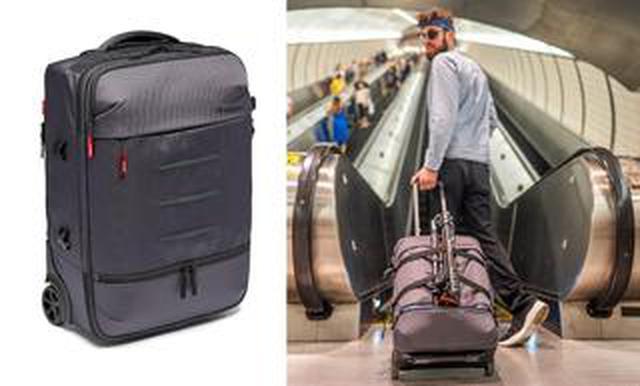 画像: ヴァイテックイメージングは「マンフロットManhattanコレクションローラーバッグ」を発表! 発売は11月28日予定。