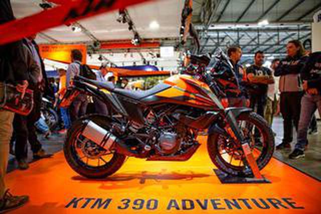 画像: 怒濤EICMA・実は250もあった、KTM 250アドベンチャー